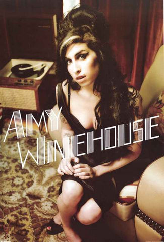 Amy Winehouse Portrait Poster
