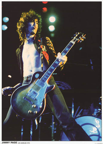 Led Zeppelin Jimmy Page Poster
