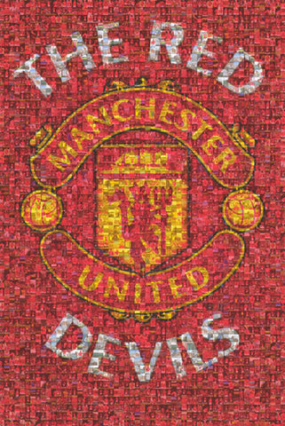 Manchester United FC Red Devils Poster