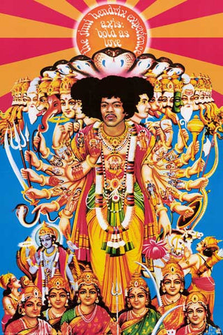 Jimi Hendrix Axis Bold As Love Poster