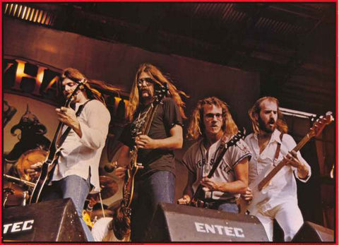 Molly Hatchet Band Poster