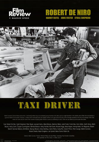 Taxi Driver Film Review Poster
