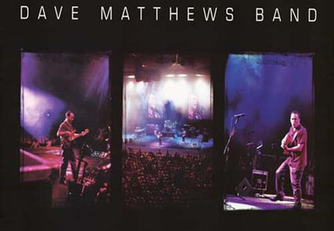 Dave Matthews Band 3 Live Pics 38x55 Giant Poster