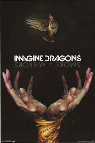 Imagine Dragons Band Poster