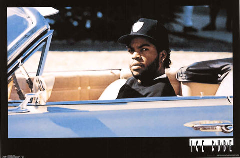 Ice Cube Chevy Impala Poster