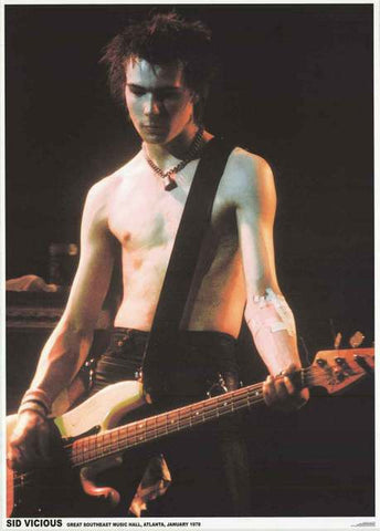 Sex Pistols Sid Vicious Poster