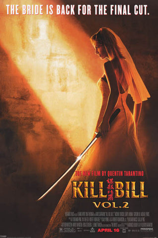 Kill Bill The Bride is Back Uma Orig 2004 24x36 Poster