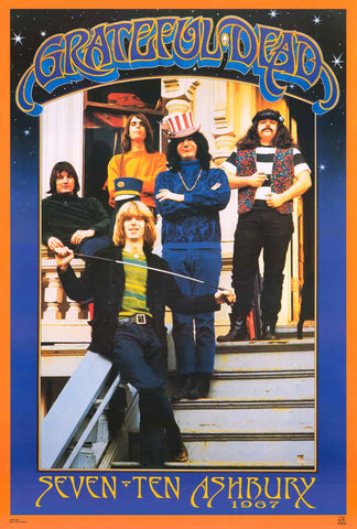 Grateful Dead Ashbury 1967 Poster
