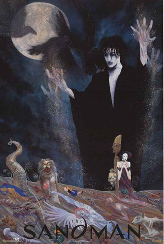 The Sandman Vince Locke Art 1993 DC Comics Poster 24x36