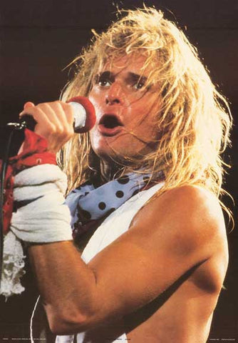 David Lee Roth Van Halen Poster