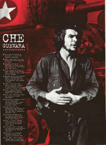 Che Guevara Timeline Poster