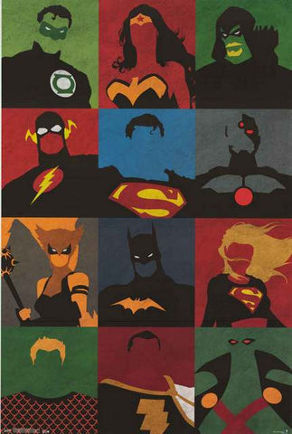 Justice League DC Comics Poster