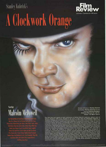 A Clockwork Orange Film Review Poster