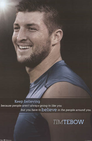 Tim Tebow Quote Poster