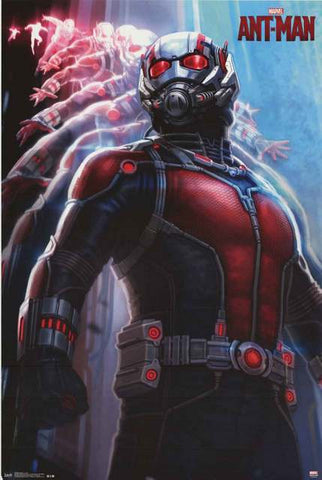 Ant-Man Marvel Comics Poster