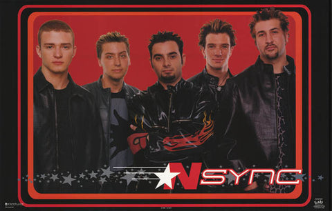 N'Sync Band Poster