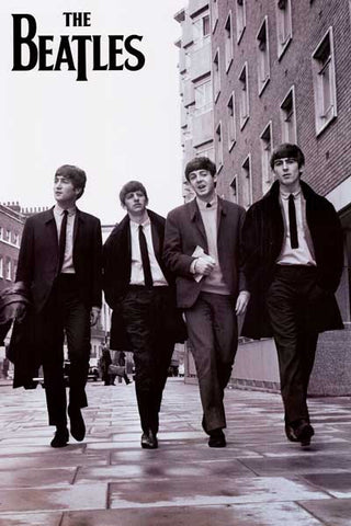 The Beatles Taking a Stroll XL 40x60 Poster