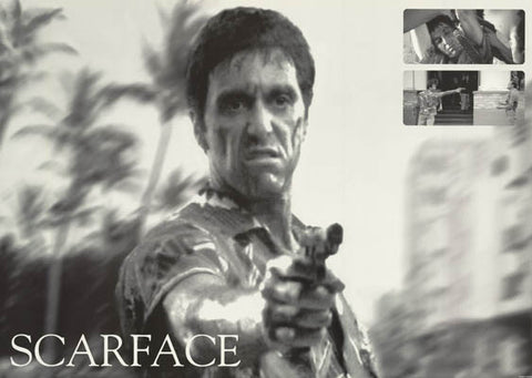 Scarface Ocean Drive Al Pacino Poster 24x36