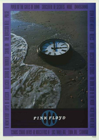 Pink Floyd Time 1998 Music Poster 25x36