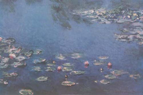 Claude Monet Water Lilies Poster