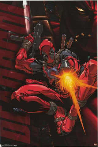 Deadpool Marvel Comics Poster