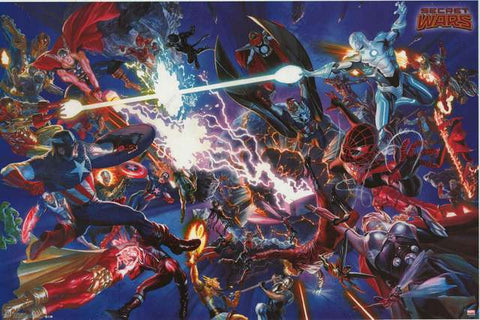 Marvel Comics Secret Wars Poster