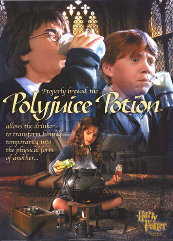 Harry Potter Polyjuice Potion Poster