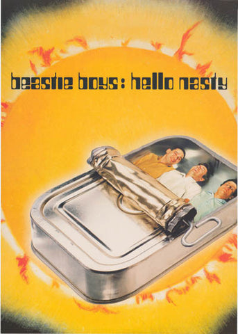 Beastie Boys Hello Nasty AdRock MCA Mike D 23x33 Poster