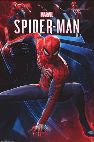 Spider-Man Marvel Comics Video Game Poster