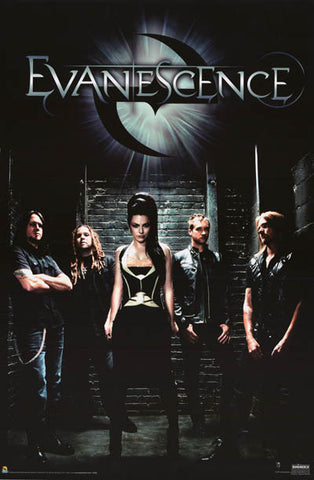 Evanescence Amy Lee Band Poster