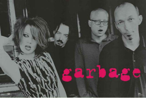 Garbage Band Portrait 1997 Music Poster 23x34