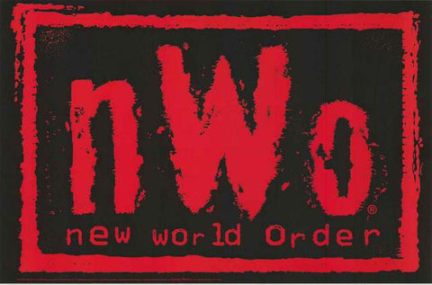 NWO New World Order WCW Wrestling Poster