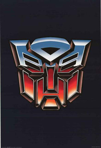 Transformers Autobots Logo Poster