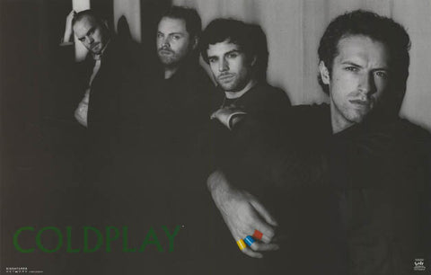 Coldplay X & Y Chris Martin and Co 22x34 Poster