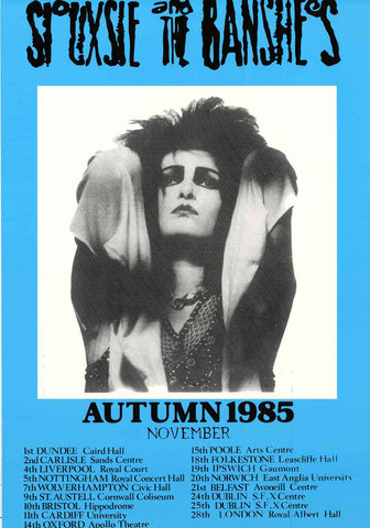 Siouxsie and the Banshees Tour Poster