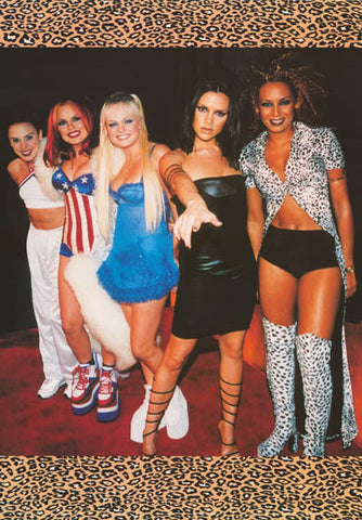 Spice Girls Group Poster