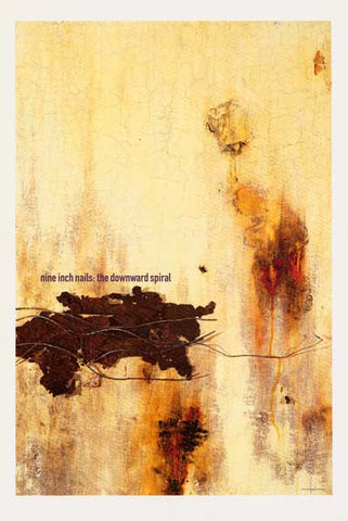 Nine Inch Nails Downward Spiral Poster