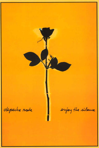 Depeche Mode Enjoy the Silence Poster