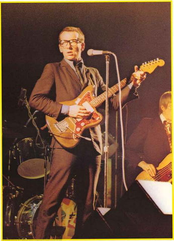 Elvis Costello Portrait Poster
