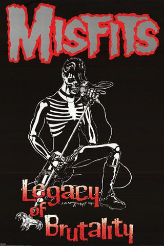 The Misfits Legacy of Brutality Danzig Art 24x36 Poster