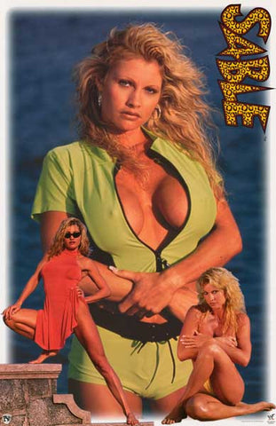 Sable WWE Wrestling Poster