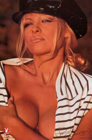 Pamela Anderson Pin-Up Poster