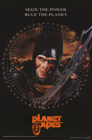Planet of the Apes (2001) Seize the Power 23x35 Poster