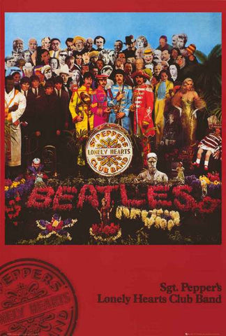 The Beatles Sgt Peppers Poster