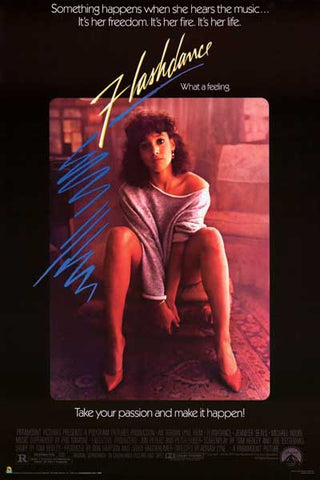 Flashdance It's Her Life Jennifer Beals 24x36 Poster