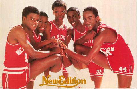 New Edition Band Poster