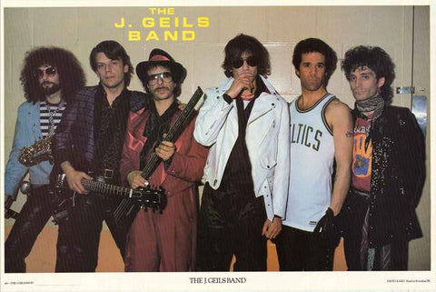 The J. Geils Band Poster