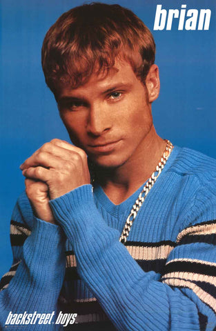 Backstreet Boys Brian Littrell Poster