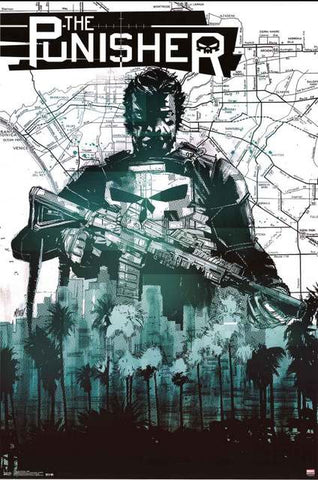 The Punisher Marvel Comics Poster