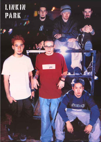 Linkin Park Band Poster